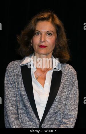 Tokio, Japan. 26. Juni 2015. Anne Fontaine Regisseur für den Film '' Gemma Bovery'' besucht die feierliche Eröffnung - Stockfoto