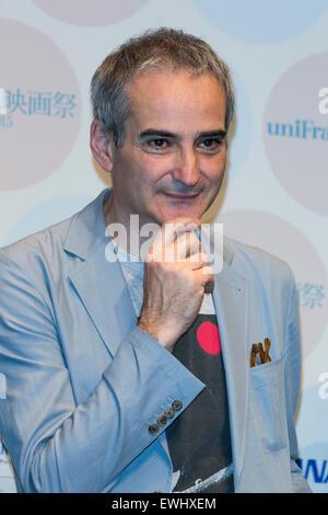 Tokio, Japan. 26. Juni 2015. Olivier Assayas Regisseur des Films '' Sils Maria'' besucht die feierliche Eröffnung - Stockfoto