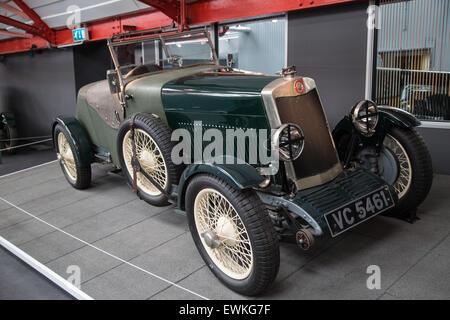 1928 Lea Francis Hyper die Ulster TT Rennen gefahren von Kaye gewann Don im britischen Coventry Transport-Museum - Stockfoto