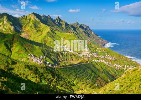 Taganana, Teneriffa, Kanarische Inseln, Spanien - Stockfoto