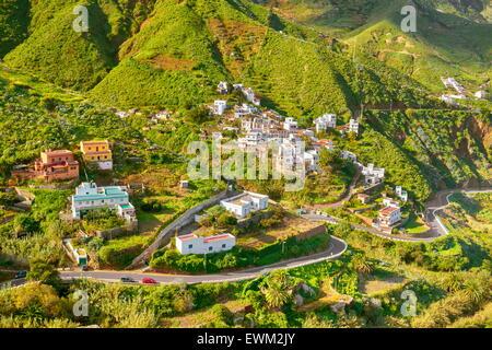 Taganana Dorf, Teneriffa, Kanarische Inseln, Spanien - Stockfoto