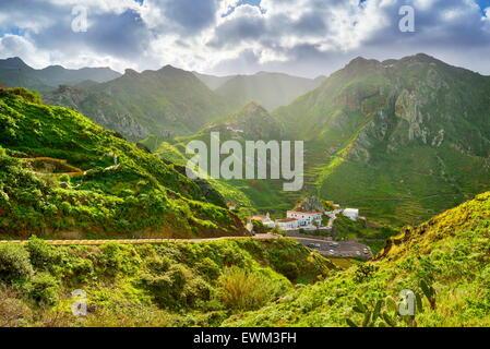 Afur Village, Teneriffa, Kanarische Inseln, Spanien - Stockfoto