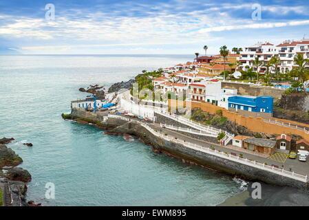 Puerto de Santiago, Teneriffa, Kanarische Inseln, Spanien - Stockfoto