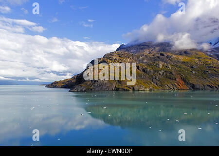 Felsformation im Glacier Bay National Park & Preserve, Alaska - Stockfoto