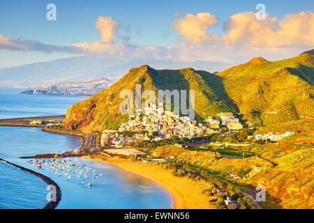 Teneriffa - Teresitas-Strand und San Andres Dorf, Kanarische Inseln, Spanien
