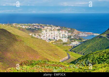 San Sebastian, La Gomera, Kanarische Inseln - Stockfoto
