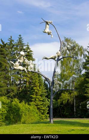Der Schelmenbaum von Peter Lenk, Emmingen-Liptingen, Deutschland gegründet.