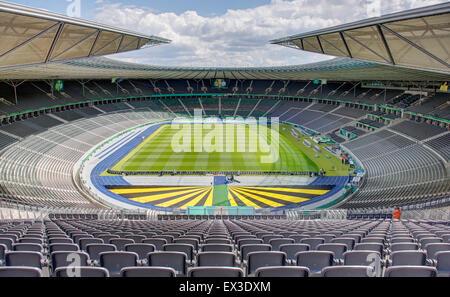 Olympiastadion, Berlin, Deutschland - Stockfoto