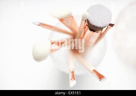 Make-up Pinsel Stockfoto