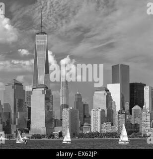 Skyline von New York City Stockfoto