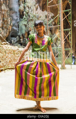 malaysische tamilische Mädchen