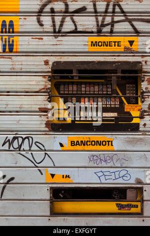 Zigarettenautomat, Rom, Italien - Stockfoto