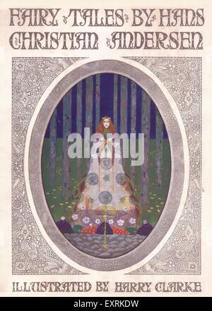 1920er Jahre UK Märchenbuch zu decken - Stockfoto