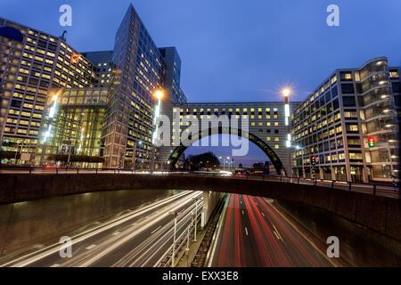 Straße bei Nacht - Stockfoto