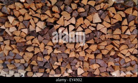 Haufen von Holz - Stockfoto