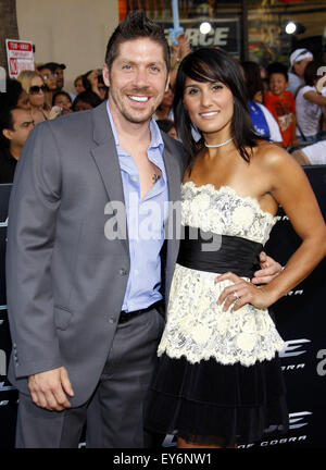 """Ray Park in Los Angeles special Screening von """"G.I. Joe: The Rise Of The Cobra"""". - Stockfoto"""