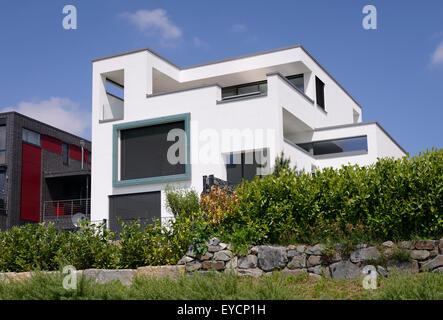 ... Deutschland, Dortmund Hoerde, Modernen Einfamilien Haus   Stockfoto