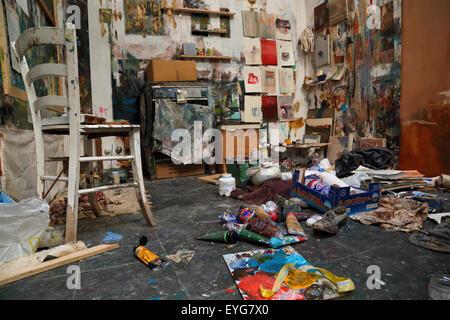 Kunst Nacht Venezia, Accademia di Belle Arti di Venezia - Stockfoto