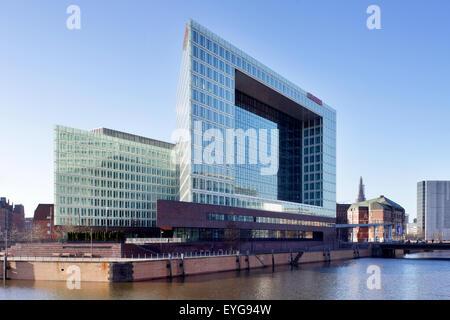 B rogeb ude und der spiegel gruppe hamburg stockfoto for Hamburg spiegel
