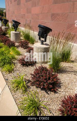 Landschaftsgestaltung  Xeriscape Landschaftsgestaltung um der University of Utah, mit ...