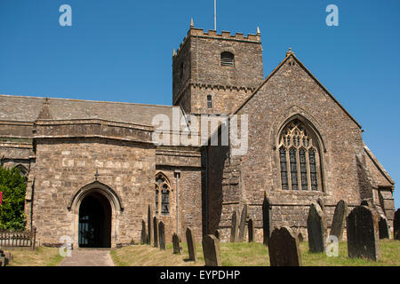 Kirche des Hl. Andreas (St Andrew's Church), Clevedon, Somerset, UK (in der TV-Serie Broadchurch, wie St Bede's - Stockfoto