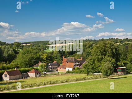 Weald und Downland Open Air Museum, Singleton, West Sussex. - Stockfoto