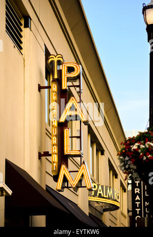 Das Restaurant Palm in Nashville Tennessee - Stockfoto