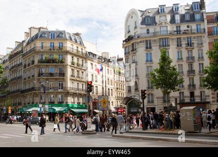 Boulevard Saint-Germain, Paris, Frankreich. - Stockfoto