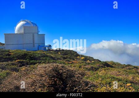 Roque de Los Muchachos Observatorium, Kanarische Inseln, La Palma - Stockfoto