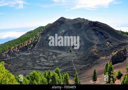 San Antonio Volcano, Kanarische Inseln, La Palma Fuencaliente - Stockfoto