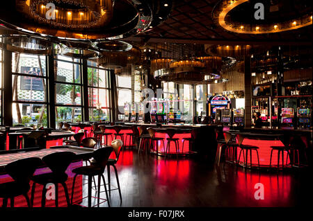 Die Bar im Inneren das Cosmopolitan Hotel and Casino in Las Vegas, Nevada - Stockfoto