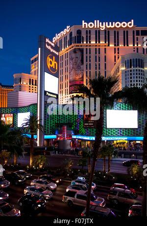Las Vegas Nevada Planet Hollywood Casino & Hotel - Stockfoto