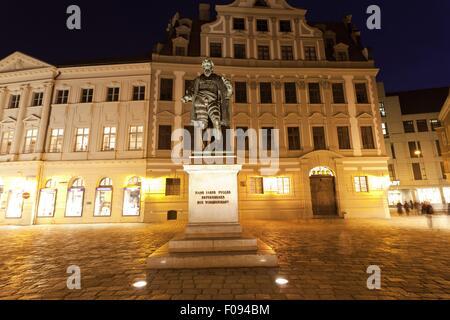 Denkmal der Fugger in Augsburg, Bayern, Deutschland - Stockfoto