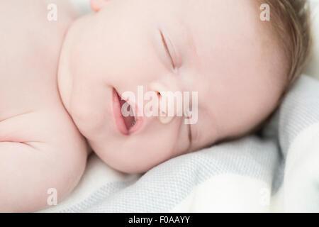 Nahaufnahme von Baby schläft - Stockfoto