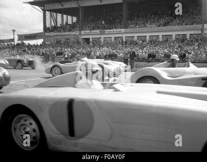 Deutschen GP Nürburgring Sport beginnen 1952 - Stockfoto