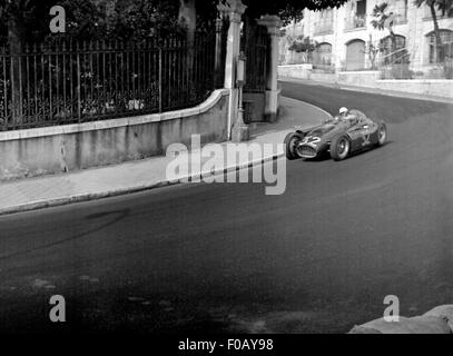 Monaco GP in Monte Carlo 1955 - Stockfoto