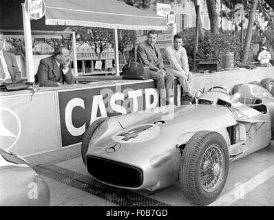 Monaco GP in Monte Carlo 1955 - Stockfoto