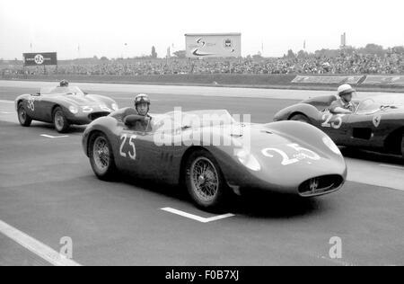 Avus-Rennen in Berlin 1958 - Stockfoto