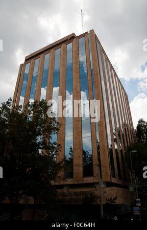 Mexiko City - Juli 28: Wahrzeichen Gebäude im Finanzdistrikt von Mexiko City, Mexiko in Nordamerika am 28. Juli - Stockfoto
