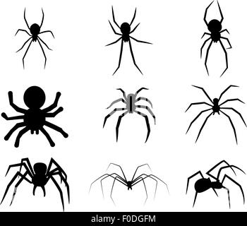 spinne symbol stockfoto bild 87889626 alamy. Black Bedroom Furniture Sets. Home Design Ideas