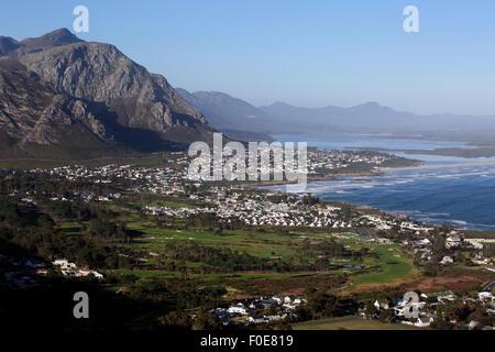 Ansicht von Hermanus an der Garden Route in Western Cape, Südafrika - Stockfoto
