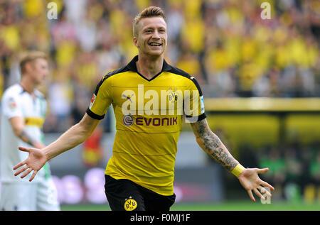 Fußball, Fußball, Deutschland, Bundesliga Saison 2015/2016, Signal-Iduna-Park: Marco Reus (BVB). - Stockfoto