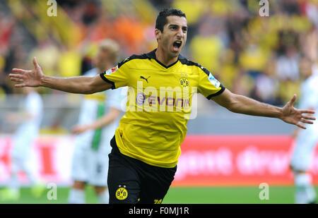 Fußball, Fußball, Deutschland, Bundesliga Saison 2015/2016, Signal-Iduna-Park: Henrikh Mkhitaryan (BVB). - Stockfoto