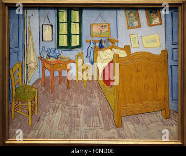 Schlafzimmer in Arles, 1889-1890. Künstler: Van Gogh, Vincent, (1853 ...