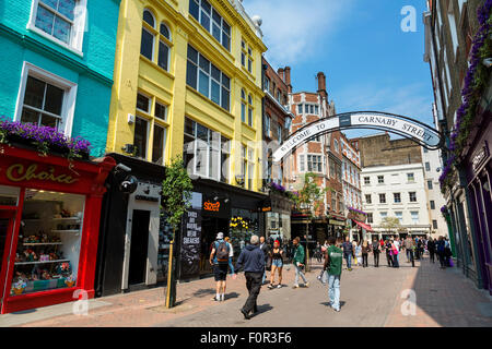 London, Carnaby Street - Stockfoto