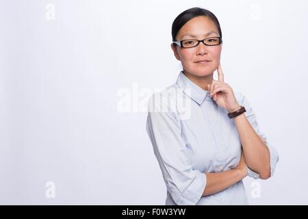 Porträt des Business-Frau - Stockfoto