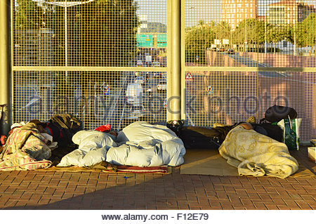 obdachlose in barcelona spanien stockfoto bild 62203628 alamy. Black Bedroom Furniture Sets. Home Design Ideas