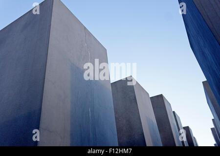 Holocaust-Mahnmal, Berlin, Deutschland - Stockfoto