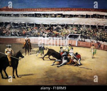 Stierkampf 1866 von Edouard Manet 1832-1883 - Stockfoto