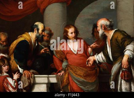 Bernardo Strozzi - Tribut-Geld - Stockfoto